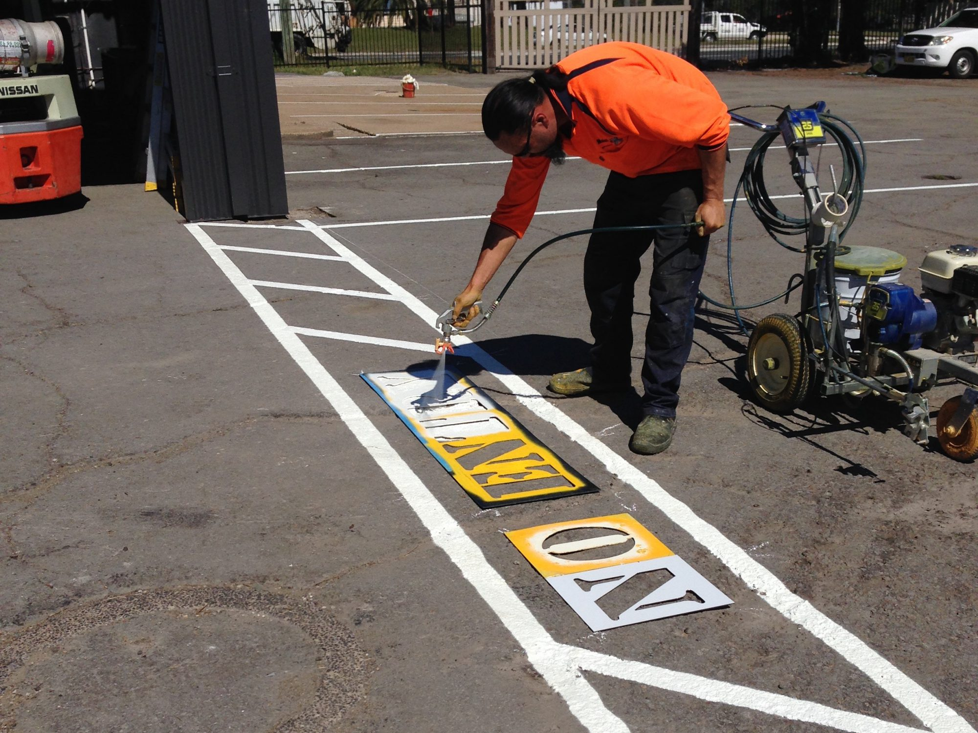 Do your line marking and parking signs need refreshing for Cost to paint parking lot lines