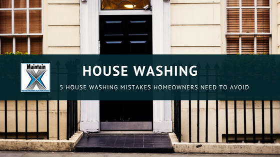 5 House Washing Mistakes Homeowners Need to Avoid